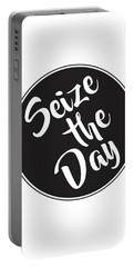 Seize The Day - Carpe Diem Portable Battery Charger