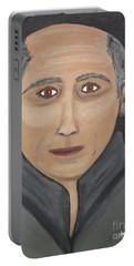 Portable Battery Charger featuring the painting Self by Jeffrey Koss