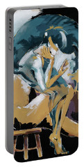 Self Reflection - Of A Dancer Portable Battery Charger