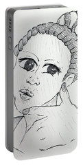 Selfy Portable Battery Charger by Loretta Nash