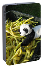 Portable Battery Charger featuring the photograph Selling Beans by Ausra Huntington nee Paulauskaite