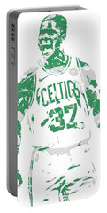 Semi Ojeleye Boston Celtics Pixel Art 1 Portable Battery Charger