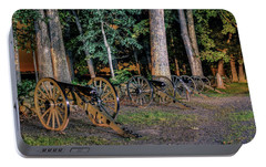 Portable Battery Charger featuring the photograph Seminary Ridge Artillery by Rob Sellers