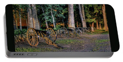 Seminary Ridge Artillery Portable Battery Charger by Rob Sellers