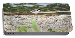 Portable Battery Charger featuring the photograph Semipalmated Plover by Ricky L Jones