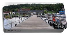 Seneca Lake Pier Watkins Glen New York Portable Battery Charger