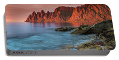 Senja Red Portable Battery Charger