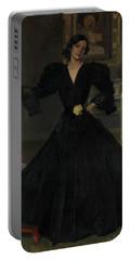 Senora De Sorolla In Black Portable Battery Charger