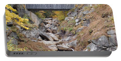 Sentinel Pine Covered Bridge Portable Battery Charger