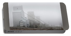Portable Battery Charger featuring the photograph Sentinels In The Fog by Brad Allen Fine Art