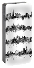 Seoul, Beijing, New York And London Custom Skyline Collection Portable Battery Charger