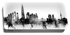 Seoul Skyline South Korea Portable Battery Charger