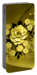Sepia Bouquet Portable Battery Charger