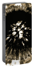 Sepia Dandelion Portable Battery Charger