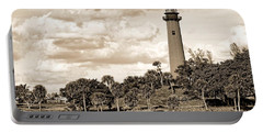 Sepia Lighthouse Portable Battery Charger