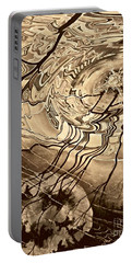 Sepia Ripples Portable Battery Charger