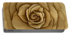 Sepia Rose Portable Battery Charger