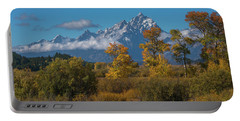 September Colors In Grand Teton National Park Portable Battery Charger
