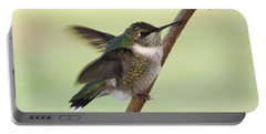 September Hummingbird Portable Battery Charger