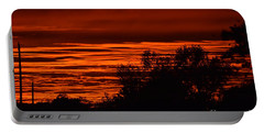 September Kansas Sunset Portable Battery Charger