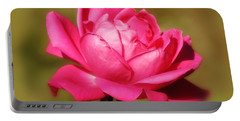 September Rose Up Close Portable Battery Charger by MTBobbins Photography