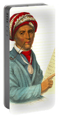 Portable Battery Charger featuring the photograph Sequoyah 1838 by Padre Art