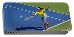 Serena Williams 1 Portable Battery Charger by Nishanth Gopinathan