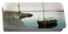 Portable Battery Charger featuring the photograph Serene Awakening by Davor Zerjav