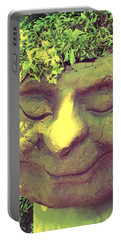 Serene Garden Man Portable Battery Charger