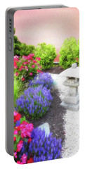 Serene Garden Portable Battery Charger by Suzanne Handel