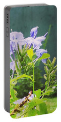 Serene Purple Portable Battery Charger by Rushan Ruzaick