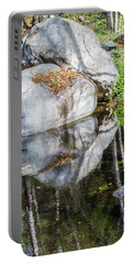Serene Reflections Portable Battery Charger by Ed Clark