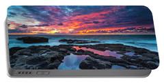 Serene Sunset Portable Battery Charger