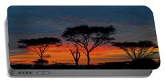 Serengeti Sunrise Portable Battery Charger