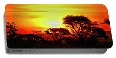 Serengeti Sunset Portable Battery Charger