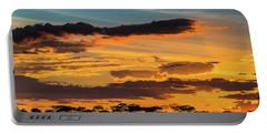 Serengeti Sunset Portable Battery Charger