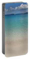 Serenity At Trunk Bay  Portable Battery Charger