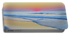 Serenity Beach Sunrise Portable Battery Charger