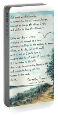 Serenity Prayer The Full Version Portable Battery Charger