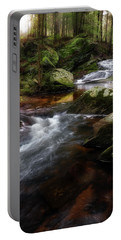 Portable Battery Charger featuring the photograph Serenity Sunrise by Bill Wakeley