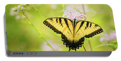 Series Of Yellow Swallowtail #6 Of 6 Portable Battery Charger
