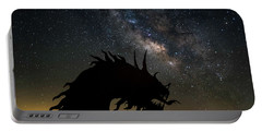 Serpent And Milky Way Portable Battery Charger by Scott Cunningham