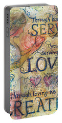 Serve Love Create Portable Battery Charger
