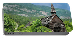 Portable Battery Charger featuring the photograph Seton Portage Church 2 by Rod Wiens