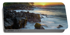 Setting Sun At Lyman's Portable Battery Charger