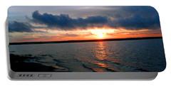 Setting Sun - Big Lagoon Portable Battery Charger