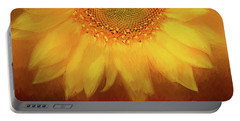 Portable Battery Charger featuring the photograph Setting Sun by Darren Fisher
