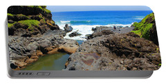 Portable Battery Charger featuring the photograph Seven Sacred Pools Of Maui by Michael Rucker