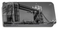 Seven Seconds - The Tower Bridge Hawker Hunter Incident Bw Versio Portable Battery Charger