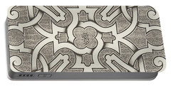 Seventeenth Century Design For Parterre Portable Battery Charger